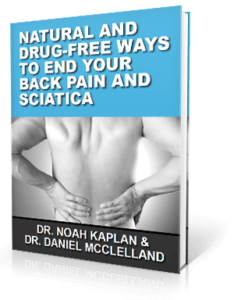 Free Back Pain Relief eBook from Advance Upper Cervical Chiropractic
